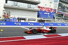 Formel 2, Sotschi: Schumacher bringt Boxencrew ins Schwitzen