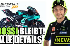MotoGP - Video: MotoGP: Valentino Rossi 2021 bei Petronas Yamaha - die Details