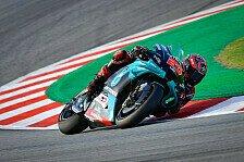 MotoGP Barcelona: Dovizioso und Rossi out, Quartararo siegt