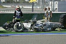 Formel 2 Sotschi: Abbruch nach Horror-Crash, Schumacher-Podium