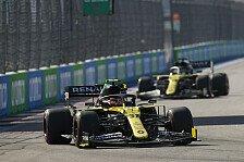 Formel 1: Renault verhaut Teamplay, Ricciardo bügelt Strafe aus
