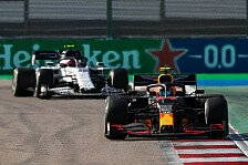 Formel 1, Sotschi: Albon fehlt sogar im letzten Drittel Power