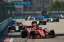 Formel 1 Sotschi: Leclerc von Start-Crasher zu Ferrari-Retter