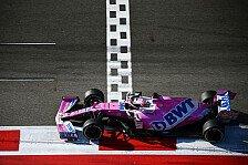 Formel 1, Perez schlägt zurück: Nach Sotschi auf einem Hoch