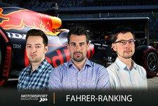 Formel 1 Sotschi, Fahrerranking: Verstappen schlägt zurück