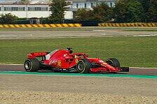 Formel 1: Mick Schumacher testet 2018er Ferrari in Fiorano