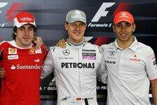 Formel 1, Alonso: Darum ist Schumacher besser als Hamilton
