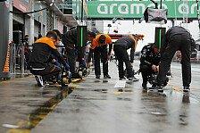 Formel 1 Ticker-Nachlese Nürburgring: Beide Trainings abgesagt