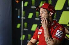 Andrea Dovizioso fährt MotoGP-Aprilia: Mehr als nur ein Test?