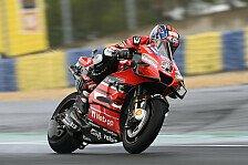 MotoGP Le Mans: Irres Chaos! Petrucci siegt vor Alex Marquez