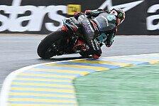 MotoGP Le Mans: Yamaha dominiert unterbrochenes 4. Training
