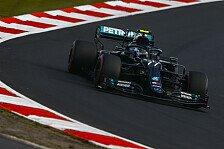 Formel 1, Nürburgring-Qualifying: Bottas kocht Hamilton ab
