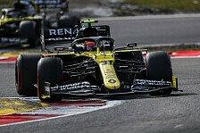 Formel 1 Nürburgring: Renault auch mit High-Downforce schnell