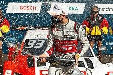 René Rast mit Big Point im DTM-Titelkampf: Zwei haarige Szenen