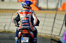 MotoGP Le Mans: Einige Crashes im Warm-Up