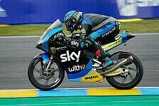 Moto3 Le Mans: Rossi-Junior Vietti siegt, WM-Führung wechselt