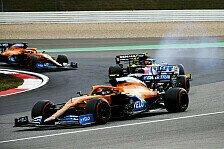 Formel 1, Norris verliert Kampf gegen Defekt: Daumenkrämpfe!