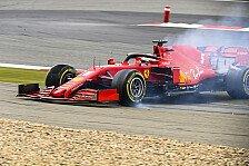 Formel 1 Nürburgring, Vettel dreht sich: Ferrari schwer fahrbar