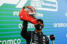 Formel 1 Nürburgring: Hamilton emotional nach Schumacher-Rekord
