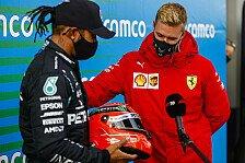 Lewis Hamilton gerührt von Schumi-Helm von Mick: Was eine Ehre