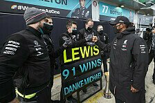 Hamilton-Rekorde nur dank bestem Auto? Kritik für Wolff unfair