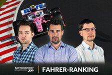 Formel-1-Fahrerranking Nürburgring: Alonso hat's lange gewusst