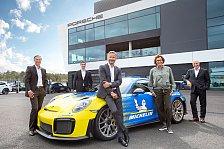 Porsche Experience Center Hockenheim setzt auf Michelin-Reifen