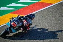 MotoGP Aragon 2020: Quartararo rast zur Pole, Dovi in Q1 raus