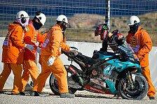 MotoGP: Quartararo trotz Verletzung auf Pole, aber Sorgen im GP
