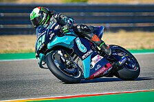 MotoGP Aragon 2020: Franco Morbidelli holt Bestzeit in FP4