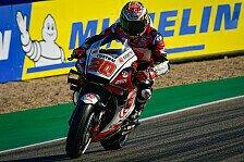 MotoGP Aragon 2020: Takaaki Nakagami holt Warm-Up-Bestzeit