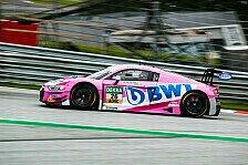 ADAC GT Masters: BWT Mücke Motorsport punktet im Jubiläumslauf