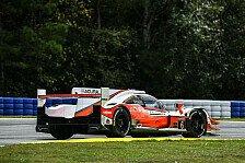 IMSA, Qualifying Petit Le Mans: Zweii Acura in Startreihe eins