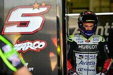 MotoGP Valencia: Zarco-Bestzeit, Rossi bei Comeback in Top-10