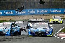 DTM: Frijns nach Unfall aus Titelkampf raus - Strafe für Gegner