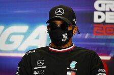 Hamilton zögert mit Vertrag: Doch keine drei Jahre Formel 1?