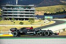 Formel 1 Portugal 2020 1. Training: Verstappen jagt Mercedes