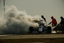 Formel 1 Portugal FP2: Bottas auf P1, Rot nach Feuer & Unfall