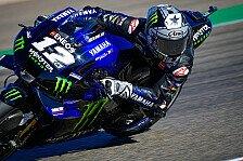 MotoGP Aragon 2020: Maverick Vinales holt Bestzeit in FP4