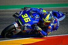 MotoGP Valencia 2020: Joan Mir siegt, Fabio Quartararo stürzt!
