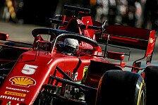 Formel 1, Ferrari lässt Vettel-Kritik nicht gelten: Autos ident