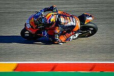 Moto3 Valencia 2020: Fernandez siegt, Drama um Albert Arenas