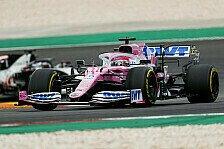 Formel 1 Portugal, Perez rettet P7: Falsche Reifen & Verwarnung