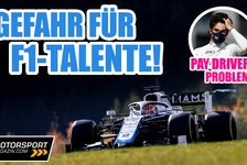 Formel 1 - Video: Hat die Formel 1 ein Pay-Driver-Problem?