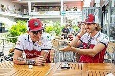 Formel 1 2021: Kimi Räikkönen und Antonio Giovinazzi verlängern