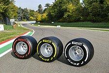 Formel 1, Reifen 2021: Pirelli nennt Mischungen für alle Rennen