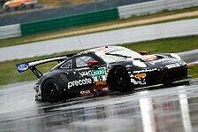 Porsche-Doppelspitze im nassen Lausitzring-Training