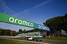 Formel 1 Imola 2021, Wetter: Regenwahrscheinlichkeit sinkt
