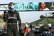 Formel 1, Bottas zittert sich zur Imola-Pole: Volle Attacke!