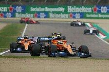 Formel 1 Imola: McLaren bleibt stecken, Sainz entrinnt Crash